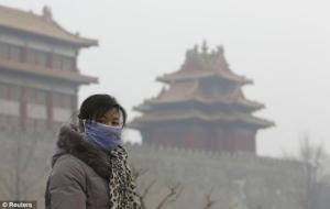 Chỉ trong tháng 1/2013, Bắc Kinh có tới 25 ngày khói mù...